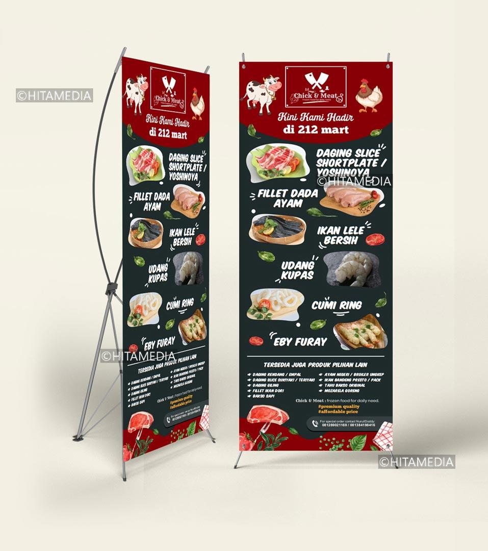portofolio Bikin Banner Wisuda